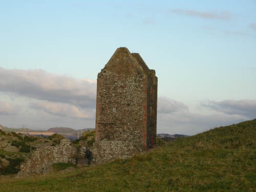 Smailholm Tower, one of the settings for A Marcher Lord