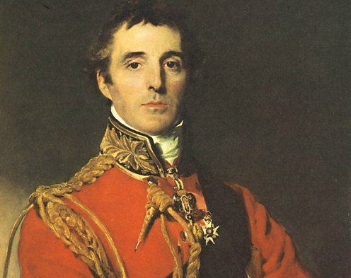 Sir Arthur Wellesley, later the Duke of Wellington