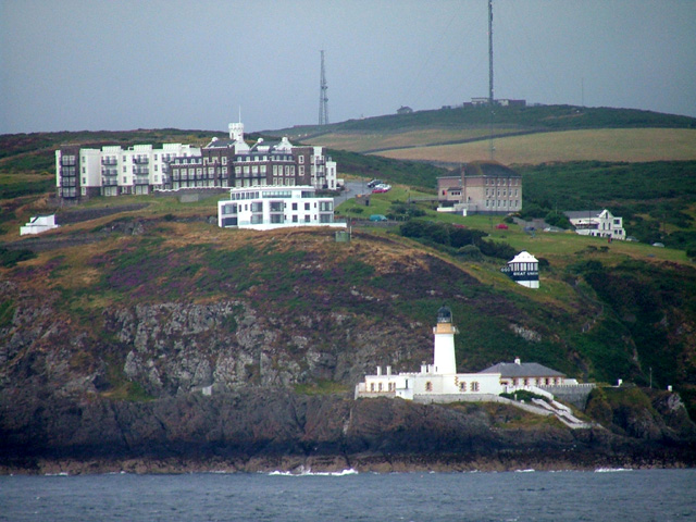 Manx Radio on Douglas Head (Photo by Nigel Williams)