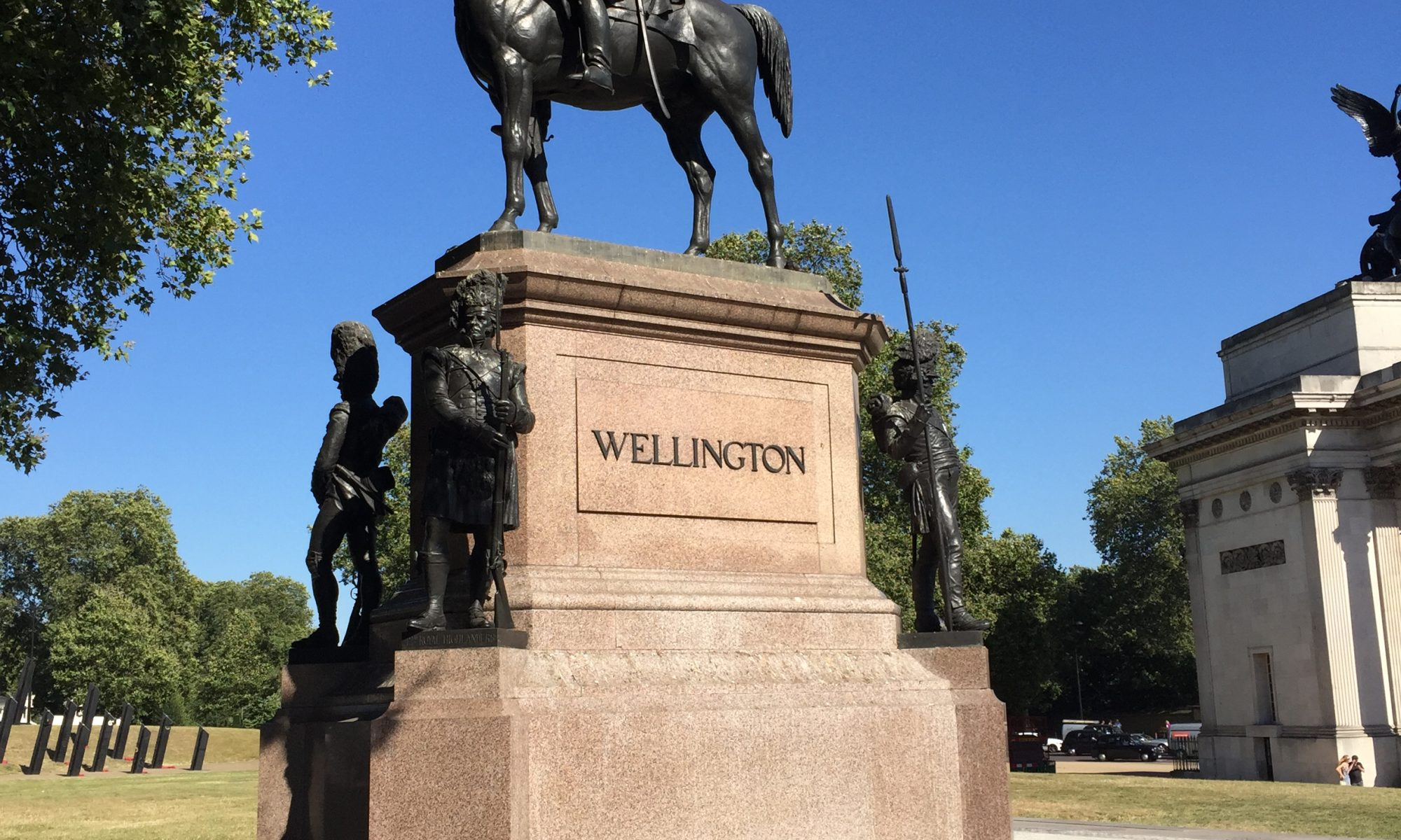 Wellington Statue, London